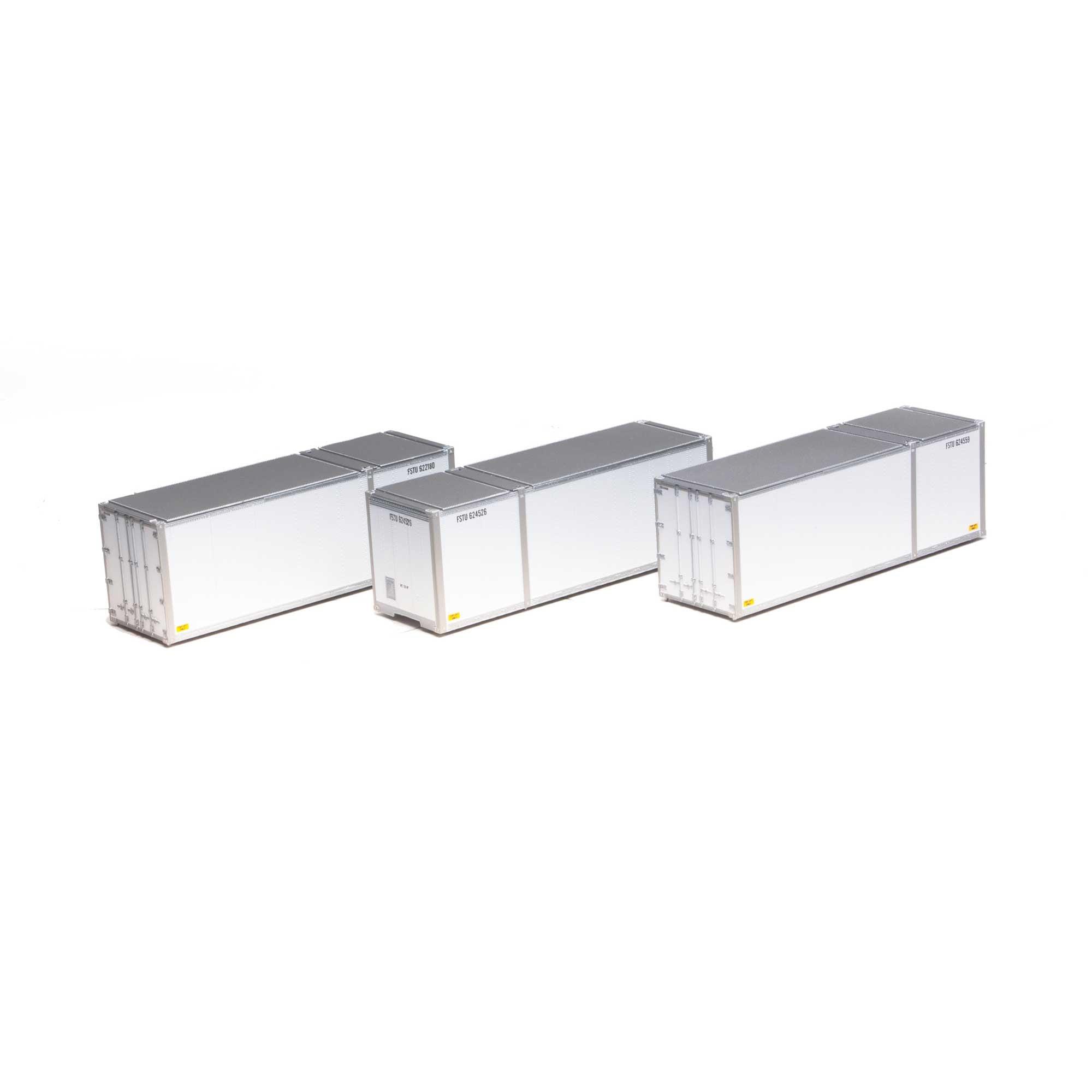 3 Containers 28' FSTU