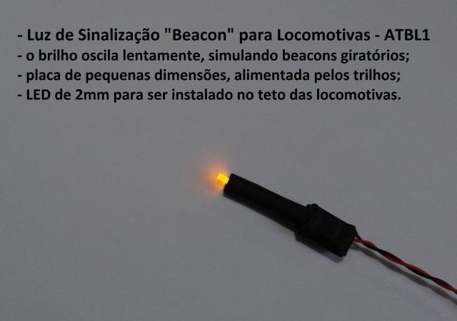 Sinalizador Beacon para Locomotivas Escala HO