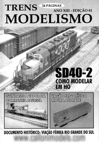 Trens Modelismo # 61