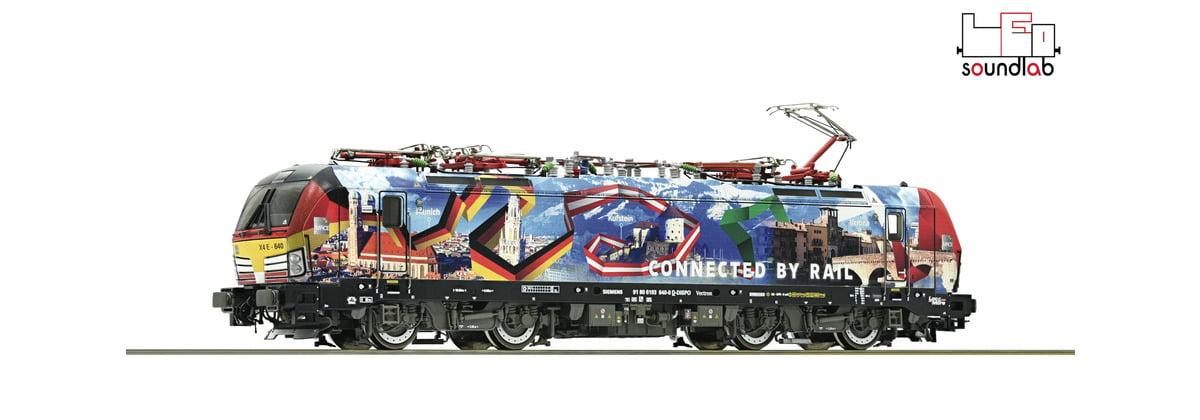 Locomotiva 193 640 MRCE Com Som e DCC