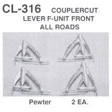 Coupler Cut Lever F-Unit Front All Roads