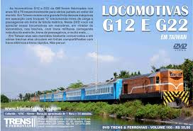 Locomotivas G12 e G22 em Taiwan
