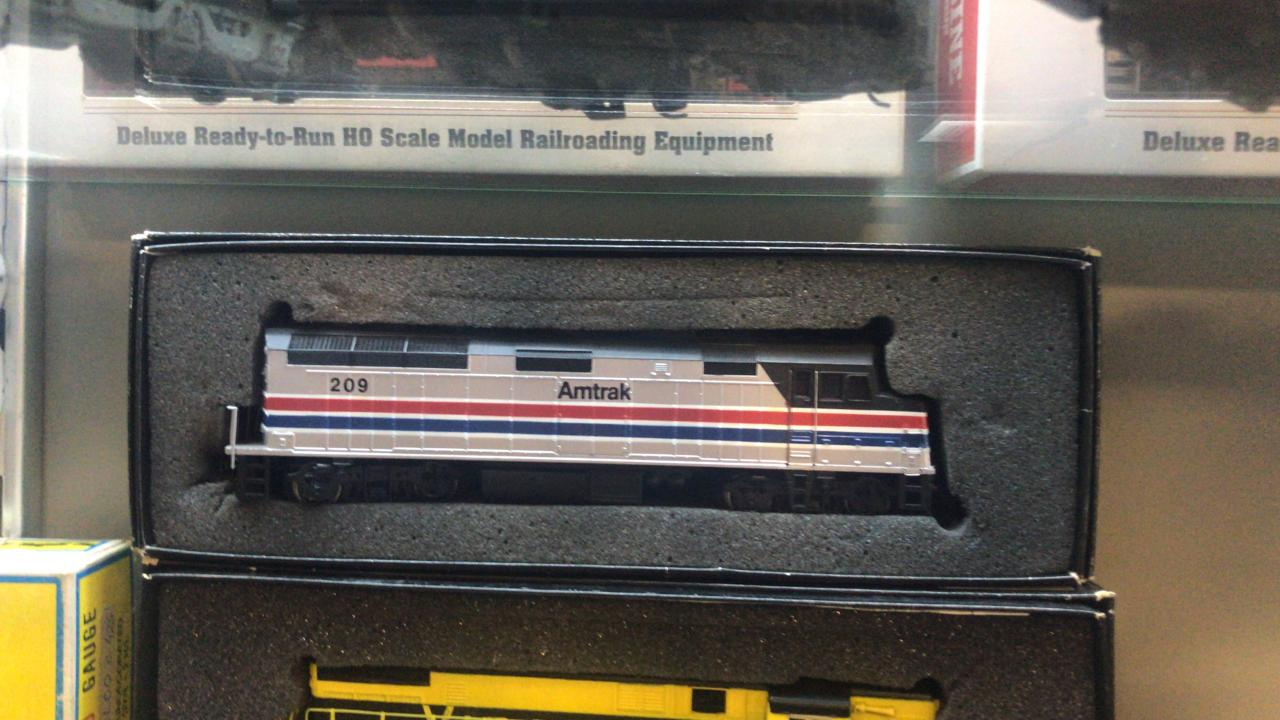 Locomotiva Amtrak