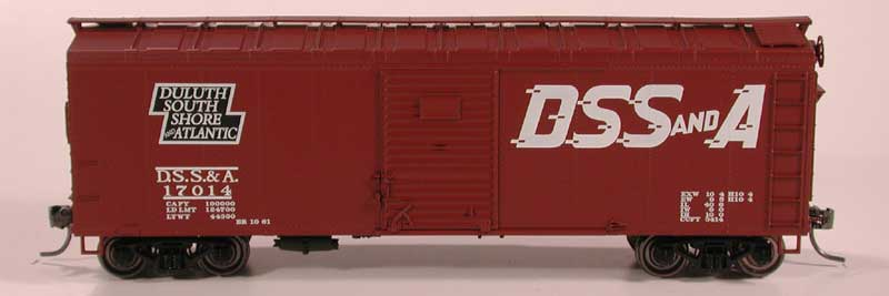 40' Box Car 2 Door