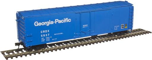 50' Plug Door Box Car GP