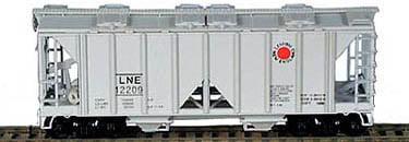 70 Ton Covered Hopper L&NE