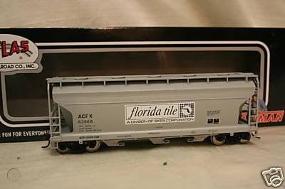 ACF 3560 Covered Hopper