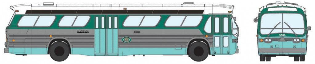 Ônibus L.A.M.T.A (Los Angeles ) # 5301