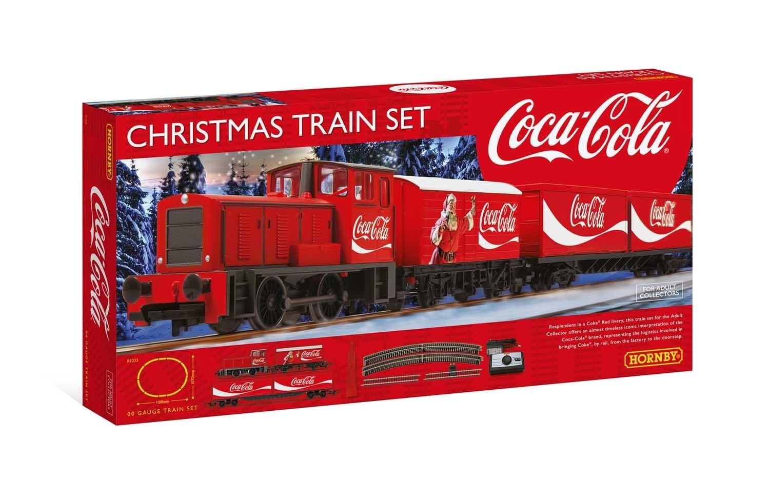 Trem de Natal Coca Cola