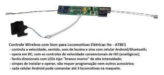 Controle Wireless para Locomotivas