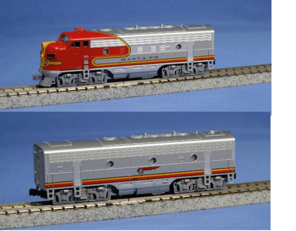 Locomotiva F7a/B com DCC