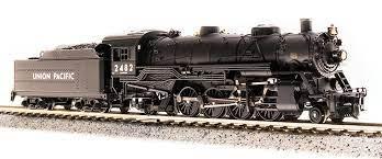 Locomotiva Mikado Som/DCC