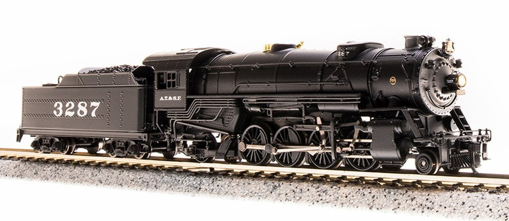Locomotiva USRA  Mikado com Som e DCC