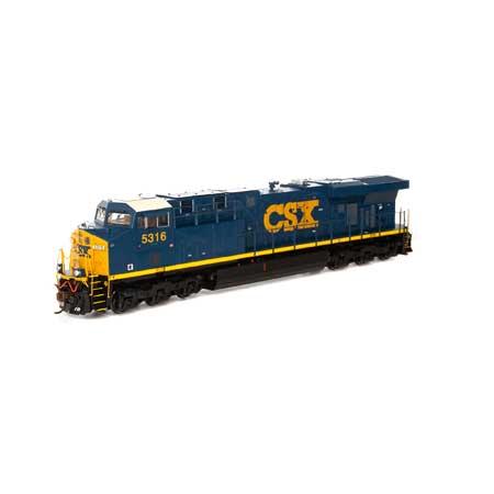 Locomotiva ES44DC CSX Com Som e DCC