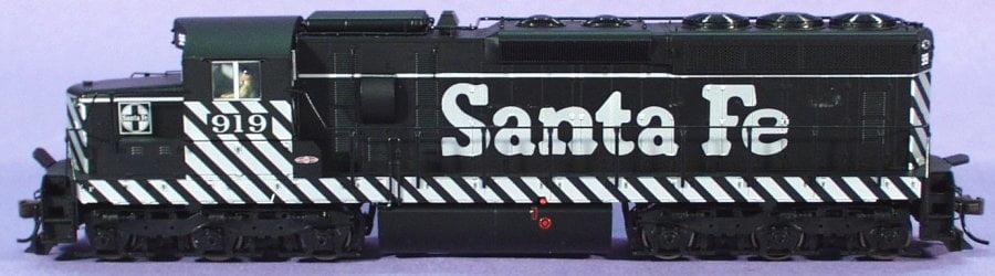 Locomotiva SD24 Santa Fe