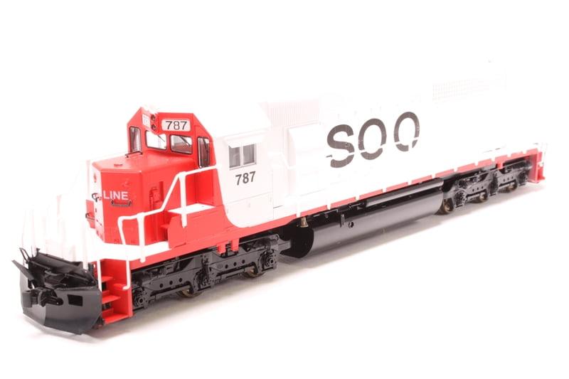 Locomotiva SD40-2 Soo Line