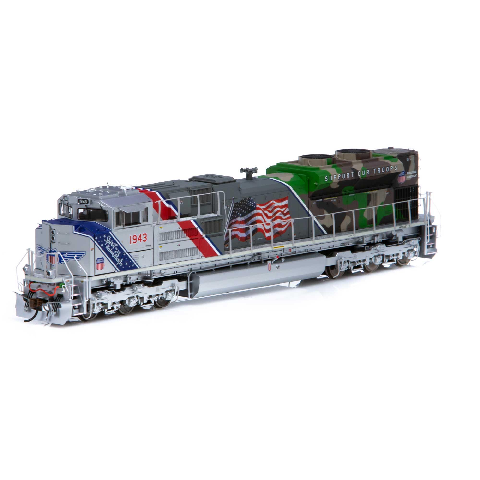 Locomotiva SD70ACe Com Som e DCC Tsunami 2