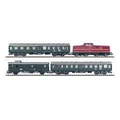 Conjunto Locomotiva BR 280 e 3 Carros de Passageiro DCC