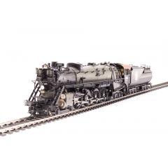 Locomotiva 4-8-4 Com Som, DCC e Fumaça