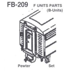 Detalhes Locomotivas F-3/F-7/F-9