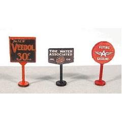 Placas de Óleos para Posto de Gasolina