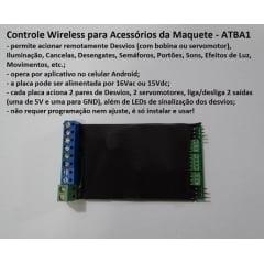 Controle Wireless para Acessórios