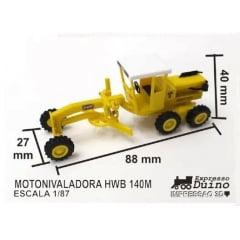 Motoniveladora HWB 140M