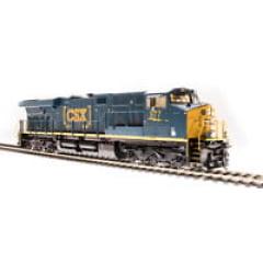 Locomotiva ES44DC Com Som e DCC Tsunami