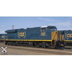 Locomotiva GE Tier GEVO Com Som e DCC CSX