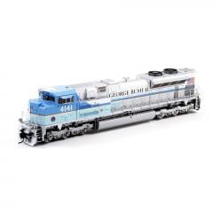 Locomotiva SD70ACe George H.W. Busch Com Som e DCC